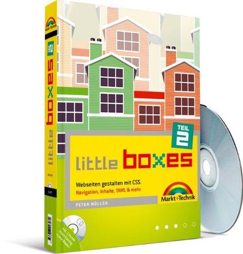 Little Boxes, Teil 2. Webseiten gestalten mit CSS. Navigation, Inhalte, YAML & mehr. - Partnerlink