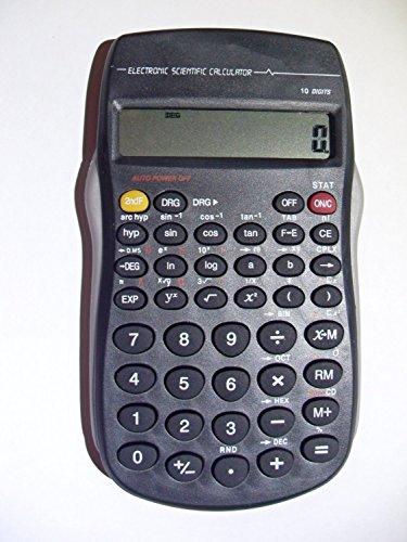 DEET calculadora científica con pilas. Pantalla de 10dígitos, práctico tamaño, perfecto para el hogar escritorio de la oficina, la escuela, matemáticas, contabilidad y finanzas etc. Fácil de usar, Producto nuevo. * * Pilas incluidas * *