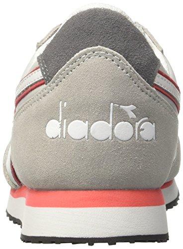 Diadora K-Run W, Sneaker a Collo Basso Donna Grigio (Grigio Alluminio/Rosa Contessa)