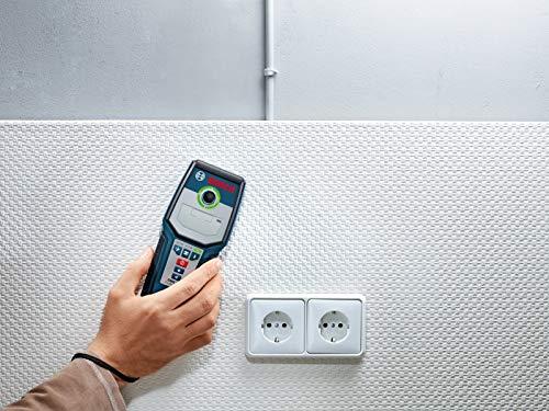 Bosch Professional GMS 120 - Detector digital (detección máx. 12 cm,...