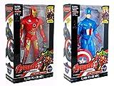 Jack Royal Avenger's - Set of 2 - Super Hero Action Figure's