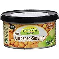 Granovita Pate Garbanzo Sésamo Bio - 125 gr - [Pack de 3]