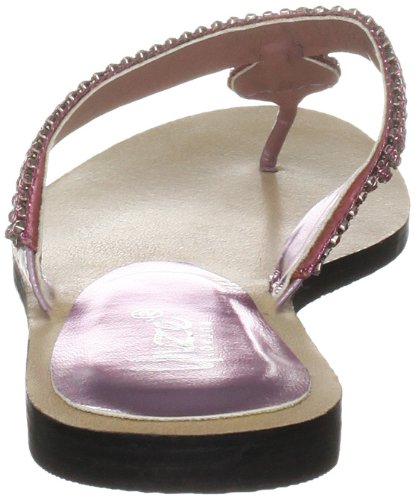 Unze Evening Sandals, Sandali donna Rosa (Pink (L18579W))