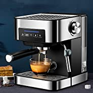 Espresso Machine Coffee Maker, 15 Bar Coffee Machines with Powerful Milk Frother for Home Barista,for Espresso
