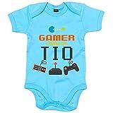Best La ropa sin marca tía del bebé - Body bebé Gamer como mi tío - Celeste Review