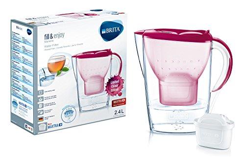 Brita Wasserfilter Marella, Kunststoff, Kunststoff, Rose, Format normal