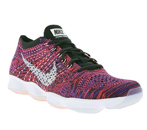 Nike Donna Wmns Flyknit Zoom Agility Scarpe da Tennis Arancione Size: 40