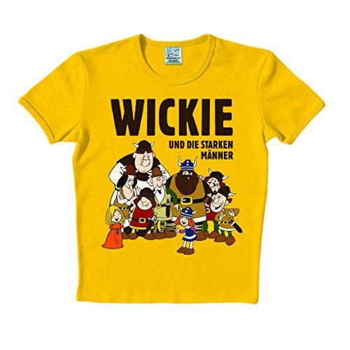 T-Shirt Halvar und Wickie - Starker Mann Kostüm