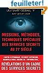 Missions, methodes, techniques specia...
