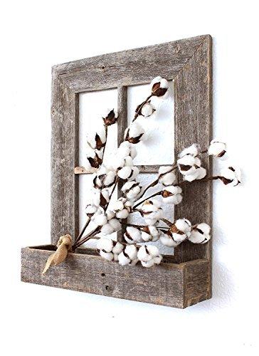 Barnwoodusa rústico ventana Planter marco–100%