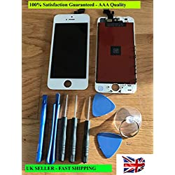 Ecran Tactile Ecran De Remplacement LCD Ecran De Rechange Rétine Avec Kit D'outils Pour iPhone 5 Blanc