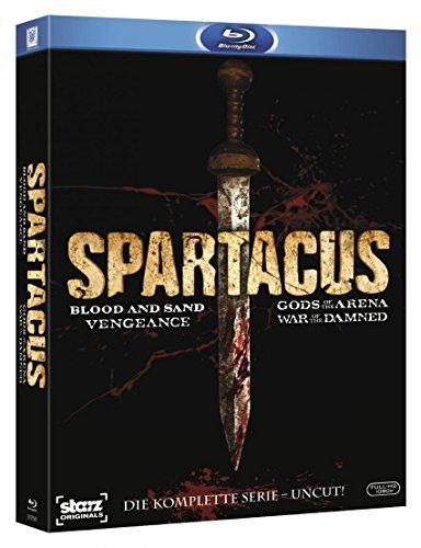 Spartacus - Komplettbox - die komplette Serie UNCUT, gebraucht gebraucht kaufen  Wird an jeden Ort in Deutschland