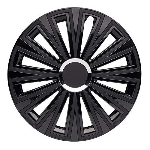 CM DESIGN 16 Zoll Sunset Double Black, Passend für Fast Alle VW z.B. für T5