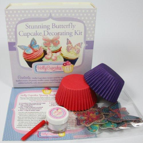 Wunderschönes Schmetterling Cupcake Deko-Zubehör / Stunning Butterfly Cupcake Decorating Kit Butterfly Cupcake Pan