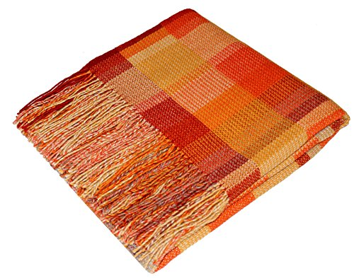 LORENZO CANA Fair Trade Alpaka-Decke Wohndecke Decke 100% reines ...