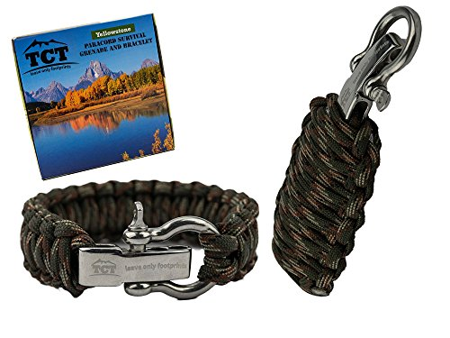 Set Granata Paracord E Braccialetto Paracord By...
