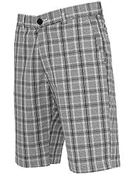 Checked Shorts blkwht 30