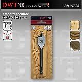 DWT Flachfräsbohrer  25 x 152 mm für Bohrmaschine - BH-WF25