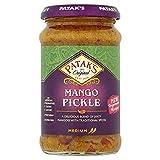 Patak`s Mango Pickle 283 g indisches Lebensmittel Eingelegtes Relishes