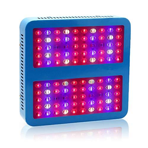 Full Spectrum Reflektor (NANANA Pflanzenlampe Zimmerpflanzen Reflektor, 1000W Full Spectrum Anlage Wachsen Lampe mit Daisy Chain Verbindung für Zimmerpflanzen Gemüse und Blumen)