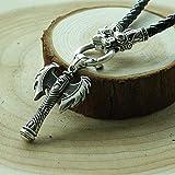 TUDUDU 1Pcs Antigua Grecia Viking Hacha Arma Colgante Collar De Amuleto Minos, Es Significar Feminismo Mujeres Joyería