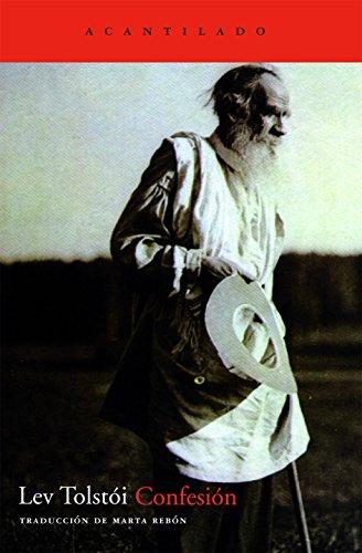 Confesión (Cuadernos del Acantilado) por Lev Tolstoi