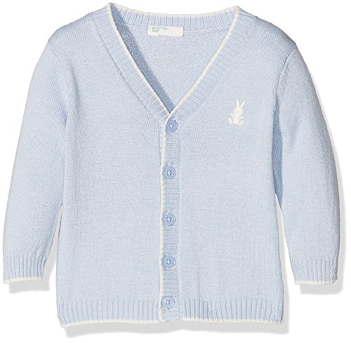 united-colors-of-benetton-12dac624n-chaqueta-punto-para-bebes-azul-blue-9-meses-talla-del-fabricante
