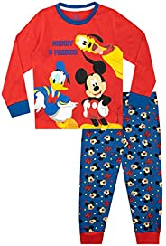 Disney Pijamas para niños Mickey Mouse Donald Duck y Pluto
