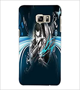 PrintDhaba Abstract Image D-4983 Back Case Cover for SAMSUNG GALAXY NOTE 5 (Multi-Coloured)