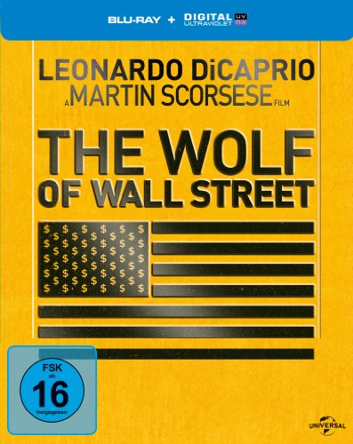 Bild von The Wolf of Wall Street - Steelbook [Blu-ray] [Limited Edition]