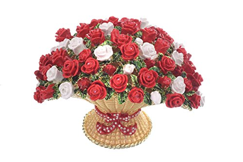 Keren kopal - vaso per fiori grande, decorato con cristalli swarovski