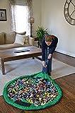 Tia-Ve Kinder Spielzeugsack Spielzeug Tasche Aufr?umsack Spielwaren Organizer, Grün