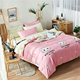 Die besten Gemütliche Bettwäsche Tröster Sets - Wiss home Bettbezug Bettwäsche, Muster, Bettbezug Bettwäsche, Pflegeleicht Bewertungen