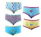 Spictex Girls' Panties (Pack Of 5) (SPIC...