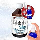 Kolloidales Silber | 500 ml kolloidales Silber | Silbertau GmbH | 10 ppm