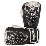 Booster BG Youth Skull Boxhandschuhe schwarz-weiß