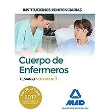 Cuerpo de Enfermeros de Instituciones Penitenciarias. Temario Volumen 3
