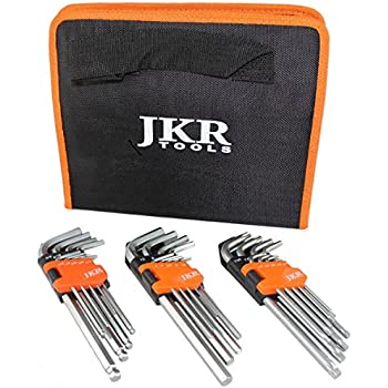 SetAllen Wrench /& Hex Key 30PC Tool SetInch//Metric RuoFeng Hex Key Wrench Set
