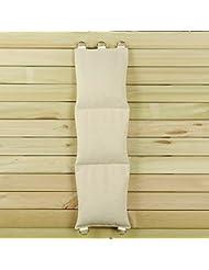Lienzo blanco perforación wallbag para Wing Chun mandril de puño práctica diferentes estilo Opción (sin piel, tres secciones) wc003