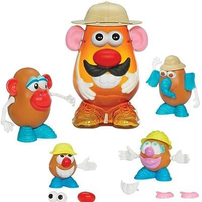 Mr. Potato - Safari, incluye cuerpos y 25 accesorios (Hasbro) por Playskool