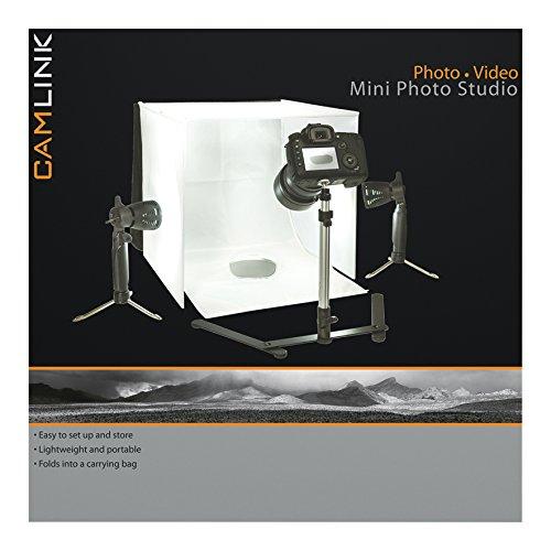 Camlink CL-STUDIO10 - Luces LED de mini estudio fotográfico