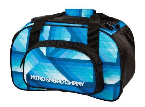 Nitro Snowboards Sporttasche Duffle Bag XS, geo ocean, 40 x 23 x 23 cm, 35 liters, 1131878019 (Duffle Laptop Bag)