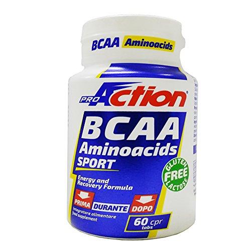 Proaction bcaa 2:1:1 aminoacidi sport 60 cpr