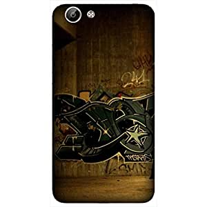 ViVo Y67 Printed Back Cover By Winchip - MultiColor
