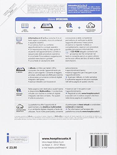 Informatica in C e C++. Con e-book. Con espansione online. Per gli Ist. tecnici industriali: 2