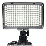 Alliebe 168 LED Digitalkamera Camcorder Videolicht Videolampen Videobeleuchtung für Canon Nikon Sony Panasonic Olympus Pentax Samsung DV Kamera Camcorder