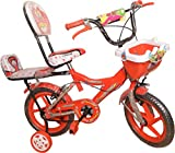 #10: Onik Baby Bicycle With Two Seat 14 Inch Red For 3-5 Years Unisex