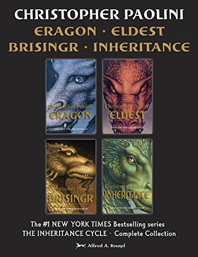 The Inheritance Cycle Complete Collection: Eragon, Eldest, Brisingr, Inheritance (English Edition)