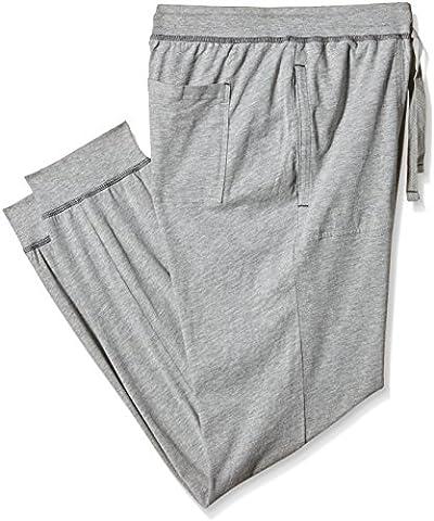 s.Oliver Herren Schlafanzughose mit Tunnelzug, Gr. Large, Grau (grey melange