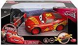 Dickie Toys 203084010Cars 3MTC MT-RRC Turbo Racer Lightning McQueen véhicule RC, Voiture télécommandée, 1: 24, 17cm